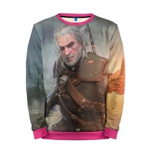 Buy Mens Sweatshirt 3D: Geralt Igni jumper The Witcher merchandise collectibles