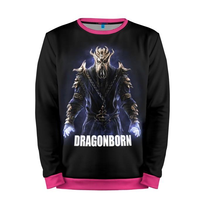 Buy Mens Sweatshirt 3D: Dragonborn The Elder Scrolls Merchandise collectibles