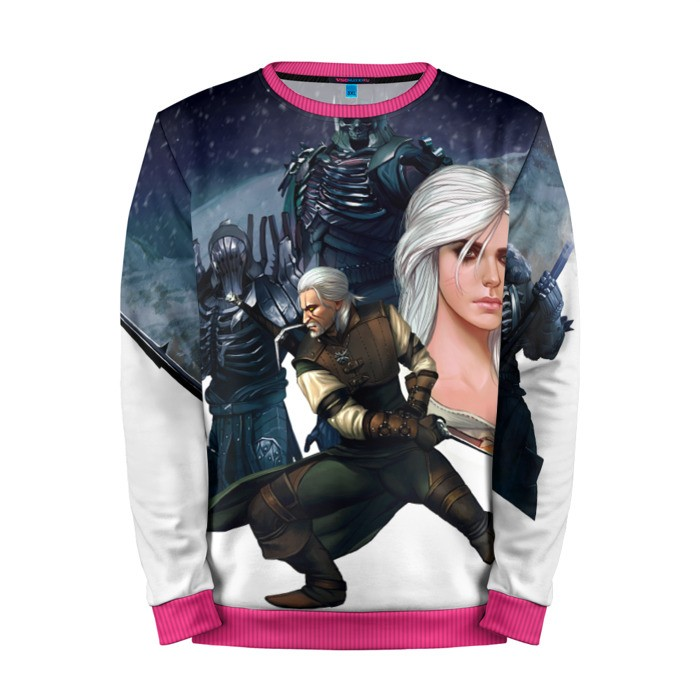 Buy Mens Sweatshirt 3D: The witcher Geralt character merchandise collectibles