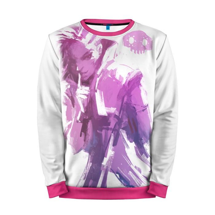 Buy Mens Sweatshirt 3D: Overwatch Purple merchandise collectibles