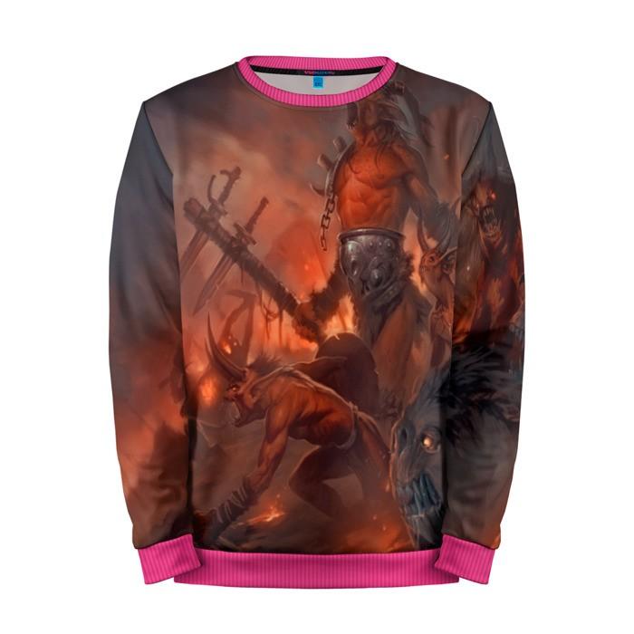 Buy Mens Sweatshirt 3D: Diablo Merchandise merchandise collectibles