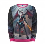 Merch Sweatshirt Queen Of Pain Dota 2 Dagger Akasha