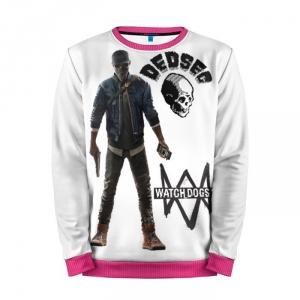 Buy Mens Sweatshirt 3D: Marcus Watch Dogs 2 merchandise collectibles