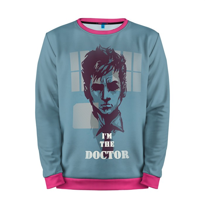 Buy Mens Sweatshirt 3D: I'm Doctor David Ternnant Doctor Who Merchandise collectibles