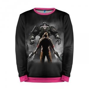 Buy Mens Sweatshirt 3D: Wolfenstein Gaming illustration merchandise collectibles