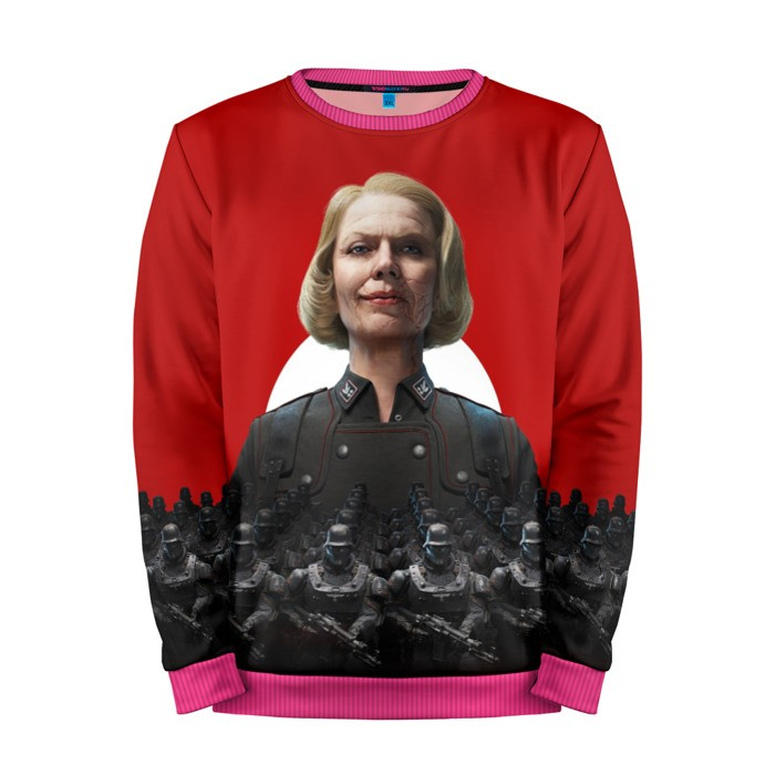 Buy Mens Sweatshirt 3D: Wolfenstein Erene Engel merchandise collectibles