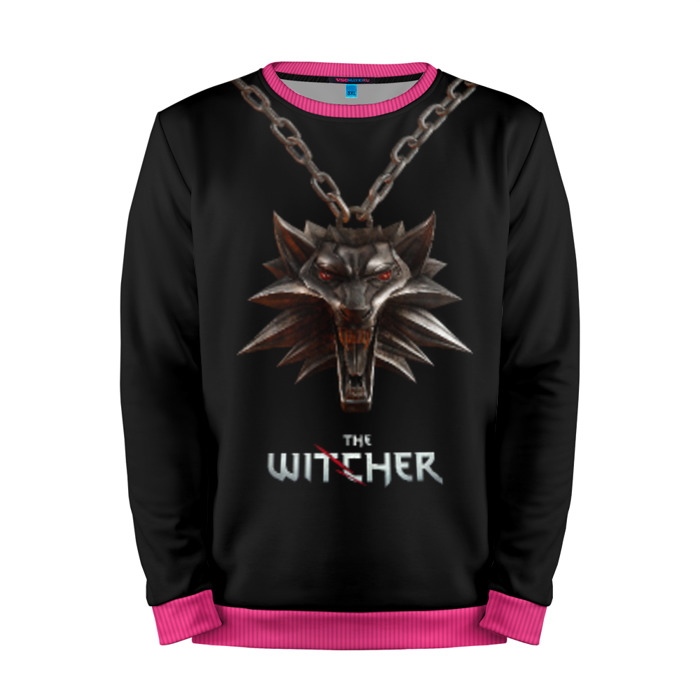 Buy Mens Sweatshirt 3D: The Witcher Wolf Logo Merchandise collectibles
