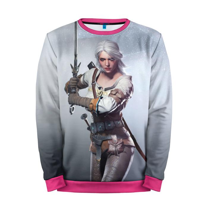Buy Mens Sweatshirt 3D: Cirilla Gamer The Witcher merchandise collectibles