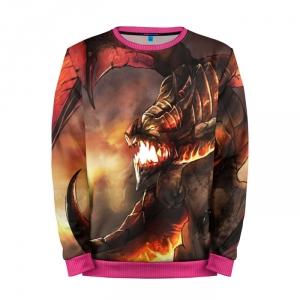 Buy Mens Sweatshirt 3D: Deathwing the Destroyer wow Merchandise collectibles