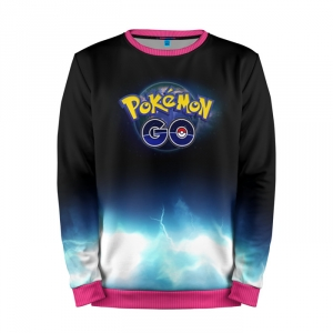 Buy Mens Sweatshirt 3D: 4 Pokemon Go merchandise collectibles