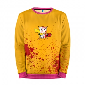 Buy Mens Sweatshirt 3D: Pikachu aggressor Pokemon Go merchandise collectibles