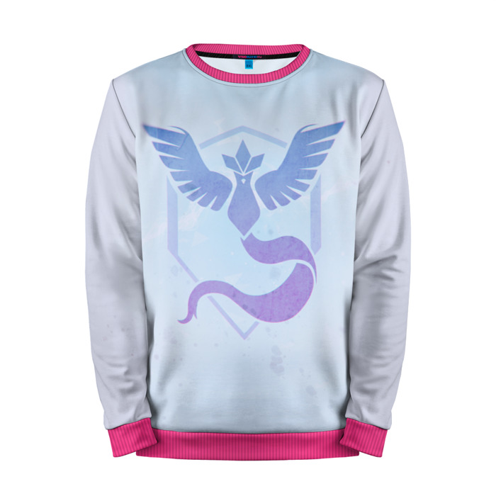 Buy Mens Sweatshirt 3D: Pokemon Go Blue Team Pokemon Go merchandise collectibles
