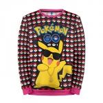 Merchandise Sweatshirt Pokemon Go Pikachu Disco