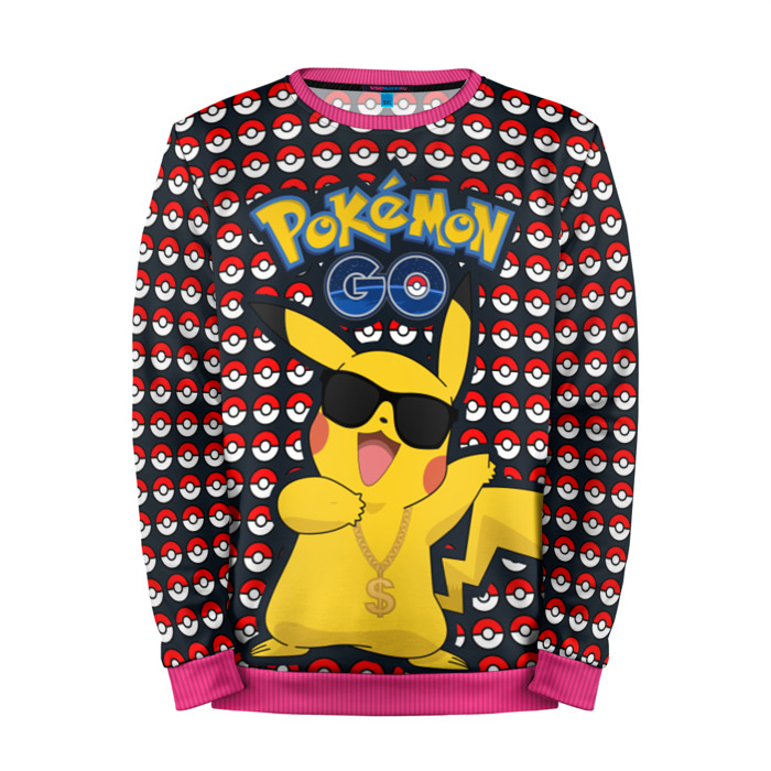 Buy Mens Sweatshirt 3D: Pokemon GO Pokemon Go merchandise collectibles