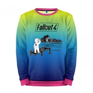 Buy Mens Sweatshirt 3D: Vault boy Fallout 4 Clothing merchandise collectibles
