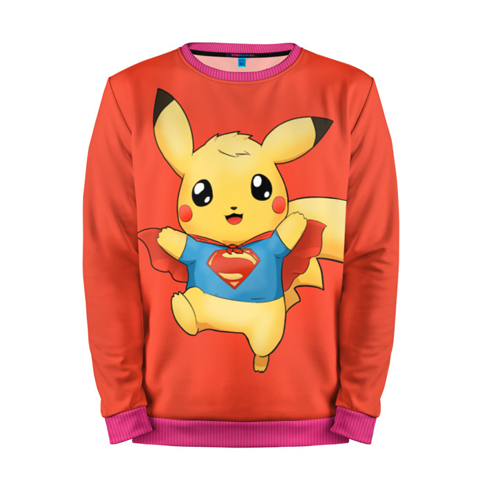 Buy Mens Sweatshirt 3D: Pikachu Pokemon Go merchandise collectibles