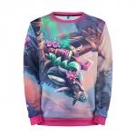 Collectibles Sweatshirt Flower Blossom Dota 2