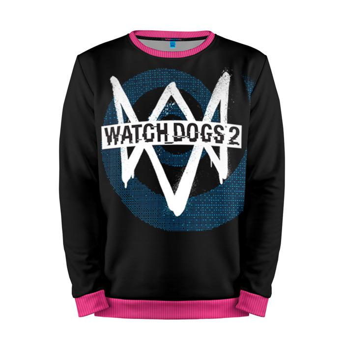 Buy Mens Sweatshirt 3D: Watch Dogs 2 Emblem merchandise collectibles