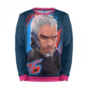 Buy Mens Sweatshirt 3D: Soldier 76 Overwatch Merchandise collectibles
