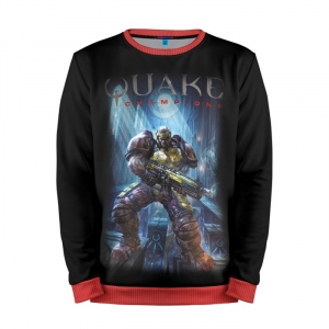 Buy Mens Sweatshirt 3D: Quake champions Game merchandise collectibles