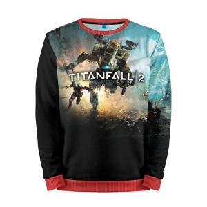 Buy Mens Sweatshirt 3D: Titanfall Gaming art merchandise collectibles