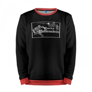Buy Mens Sweatshirt 3D: Wolfenstein Gaming art merchandise collectibles