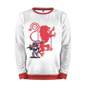 Merch Sweatshirt Red Destiny Pixel Art