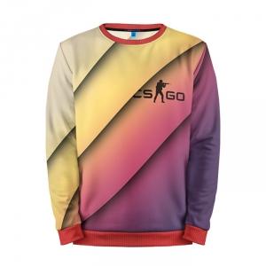 Buy Mens Sweatshirt 3D: cs:go Gradient 2 Counter Strike Merchandise collectibles