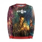 Merch Sweatshirt Dr. Who Art Doctor Who 9Th 10Th 12Th