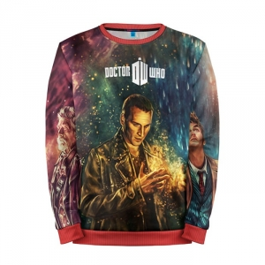 Buy Mens Sweatshirt 3D: Dr. who art Doctor Who 9th 10th 12th Merchandise collectibles