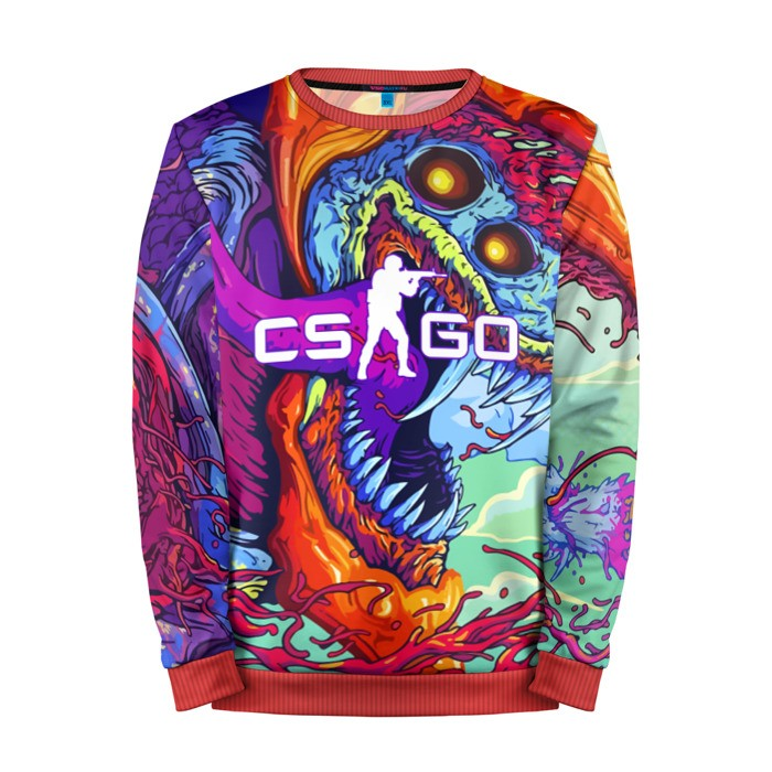 Merch Sweatshirt Cs Go Counter Strike Hyper Beast Merchandise