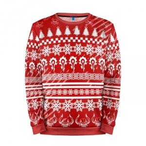 Merchandise Sweatshirt Christmas Horde World Of Warcraft