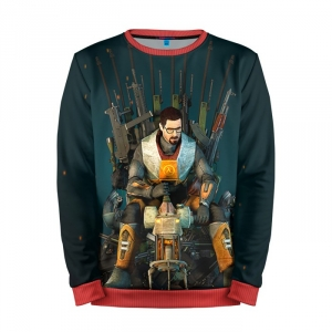 Buy Mens Sweatshirt 3D: Throne of the Game Half Life merchandise collectibles