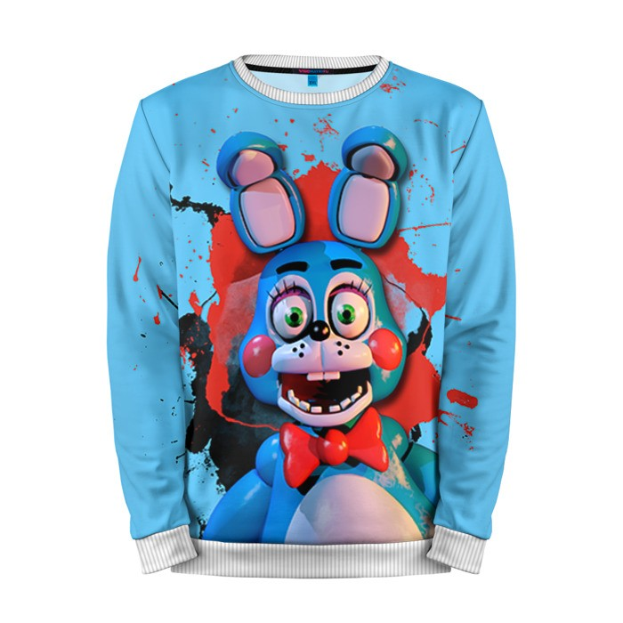 Buy Mens Sweatshirt 3D: Заяц Five Nights At Freddy's Apparel merchandise collectibles