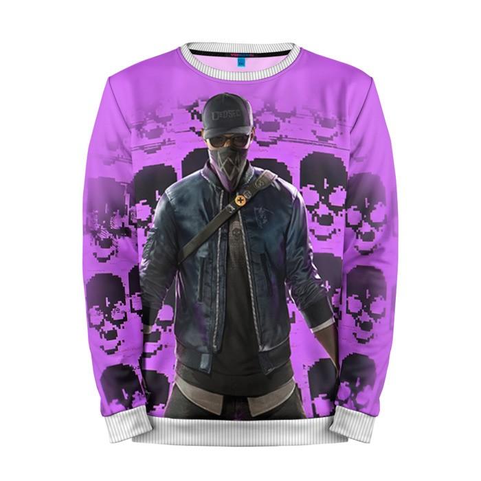 Buy Mens Sweatshirt 3D: Watch Dogs 2 Merchandise merchandise collectibles