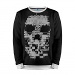 Merchandise Sweatshirt Watch Dogs 2 Skull