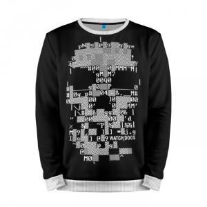 Buy Mens Sweatshirt 3D: Watch Dogs 2 Skull merchandise collectibles