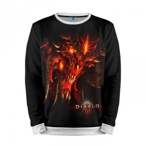 Buy Mens Sweatshirt 3D: Diablo Major Prime Evil Merchandise collectibles