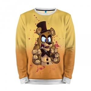Buy Mens Sweatshirt 3D: Freddy Five Nights At Freddy's Apparel merchandise collectibles