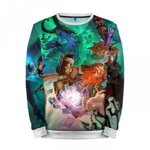 Buy Mens Sweatshirt 3D: Blizzard Hearthstone Merchandise collectibles