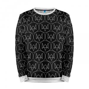 Buy Mens Sweatshirt 3D: Watch Dogs 2 Pattern merchandise collectibles