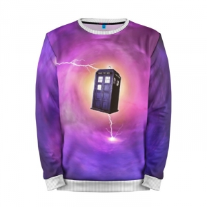 Buy Mens Sweatshirt 3D: TIME VORTEX Doctor Who Tardis Merch Merchandise collectibles