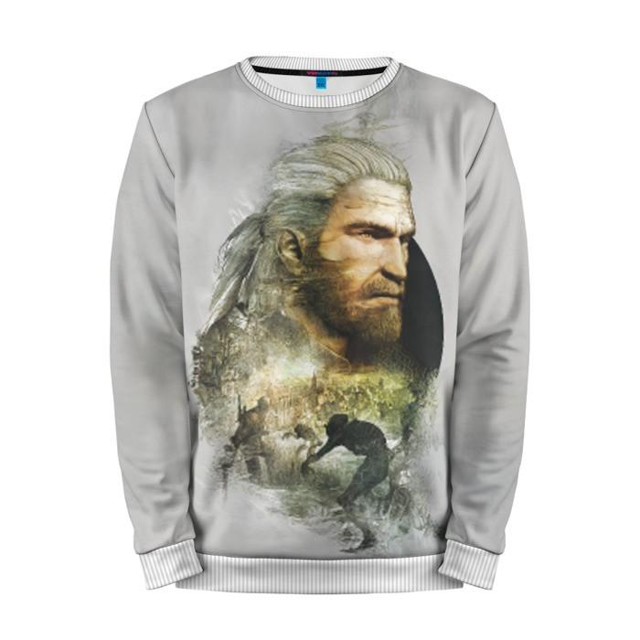 Buy Mens Sweatshirt 3D: Geralt The Witcher Collectibles merchandise collectibles