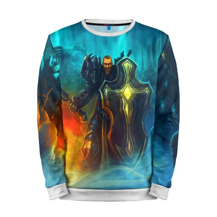 Buy Mens Sweatshirt 3D: Crusader Diablo Character Merchandise collectibles