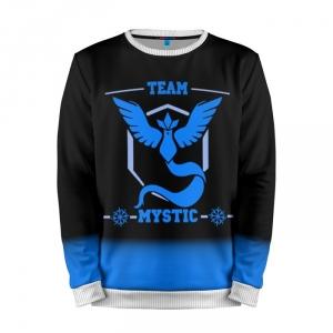 Buy Mens Sweatshirt 3D: Team Mystic Pokemon Go merchandise collectibles