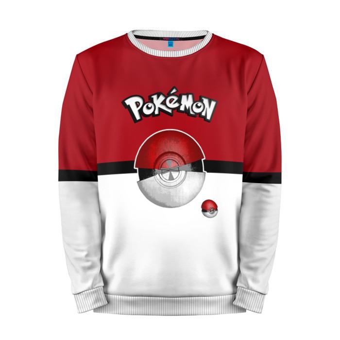 Buy Mens Sweatshirt 3D: Pokeball Pokemon Go merchandise collectibles