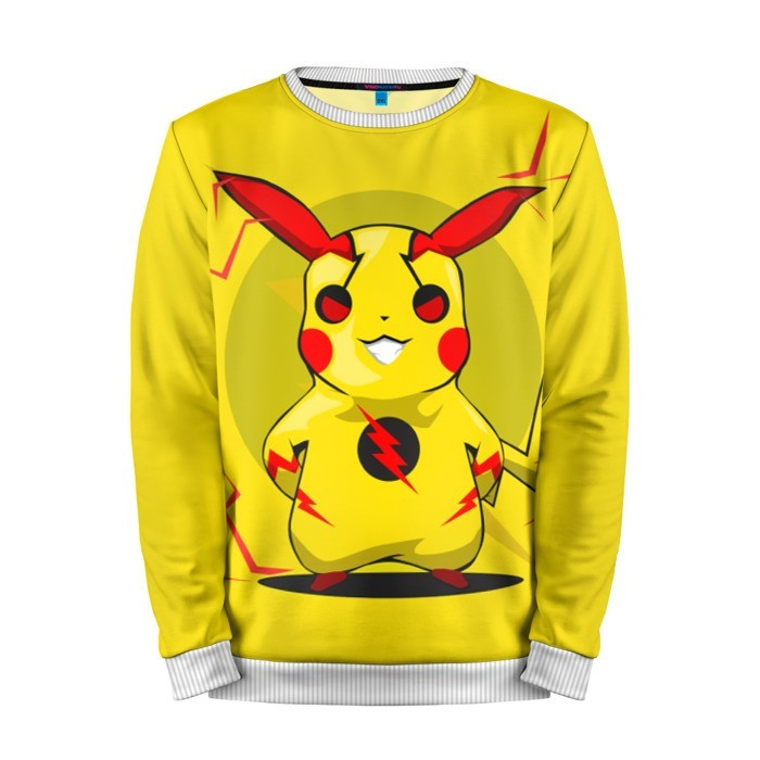 Buy Mens Sweatshirt 3D: Reverse flash Pikachu Pokemon