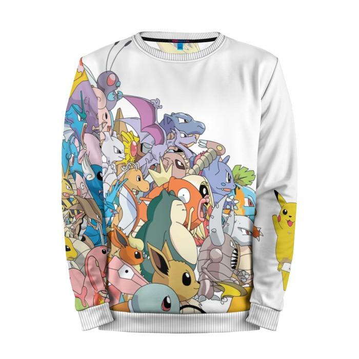 Buy Mens Sweatshirt 3D: Pokemon Go merchandise collectibles
