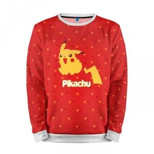 Buy Mens Sweatshirt 3D: Pikachu Pokemon Go merchandise collectibles