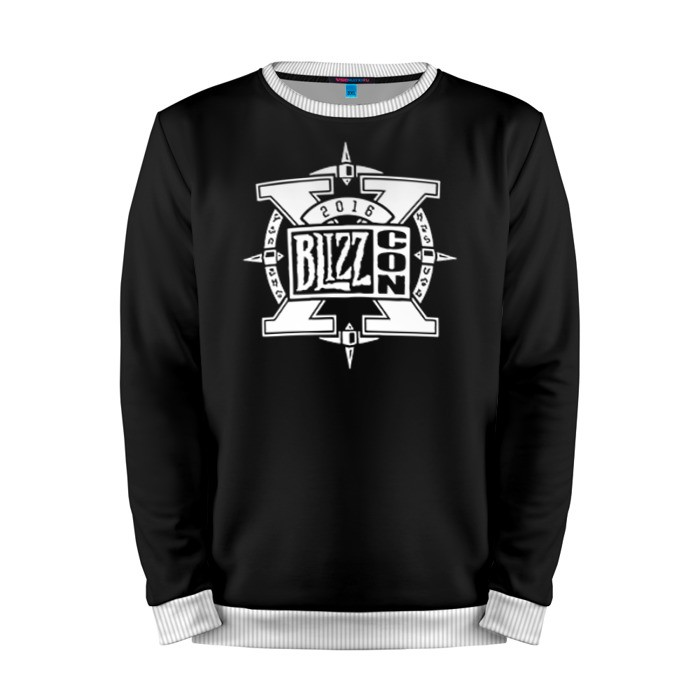 Buy Mens Sweatshirt 3D: BlizzCon 3 Logo merchandise Merchandise collectibles